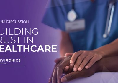 WATCH: Building Trust In Healthcare Presentation