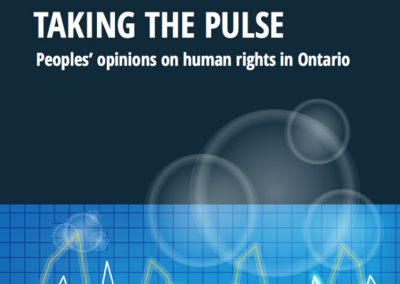 OHRC Takes The Pulse On Human Rights In Ontario
