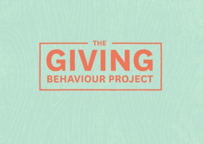 Environics Research Partnered With The Rideau Hall Foundation To Better Understand The Giving Behaviour Of Canadian Millennials