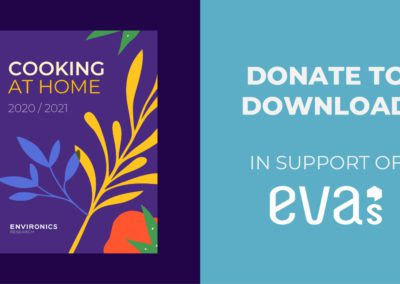 Cooking At Home 2020 / 2021: In Support of Eva's